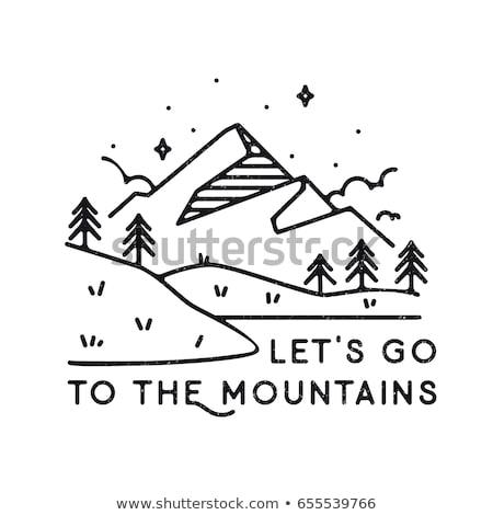 Let's go hiking. Stock photo © lithian
