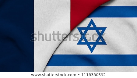 France and Israel Flags Stock photo © Istanbul2009
