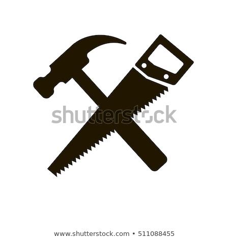 Hammer Violet Vector Icon Design Stock photo © rizwanali3d