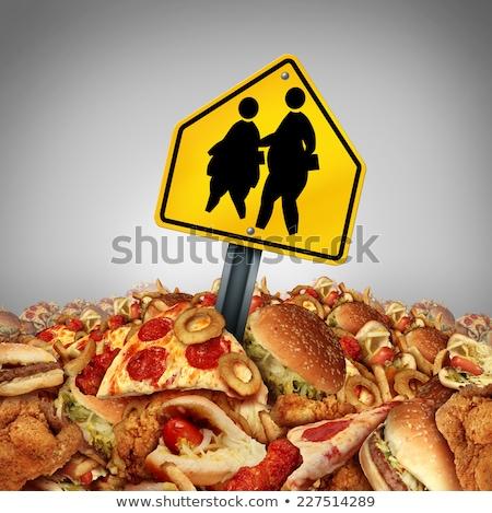 School Obesity Diet Stock photo © Lightsource