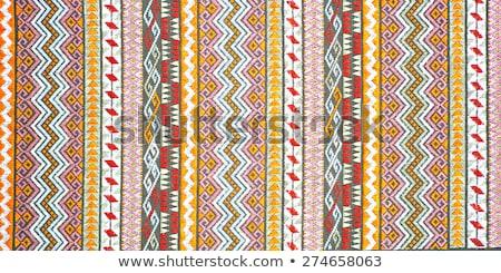 Arabic carpet colorful persian islamic handcraft Stock photo © lunamarina