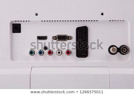 Klasszikus audio alkotóelemek számítógépmonitor absztrakt technológia Stock fotó © feverpitch