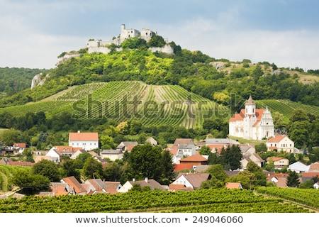 Templom alsó Ausztria épület ősz építészet Stock fotó © phbcz