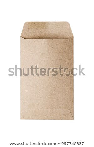 Used postal Confidential envelope, isolated on white background Stock photo © shutswis