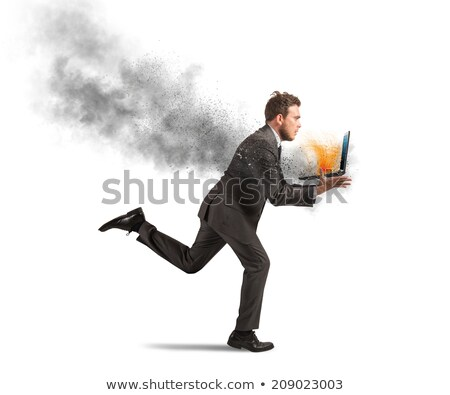 Laptop Screen with Problem Solving Concept. Stock photo © tashatuvango