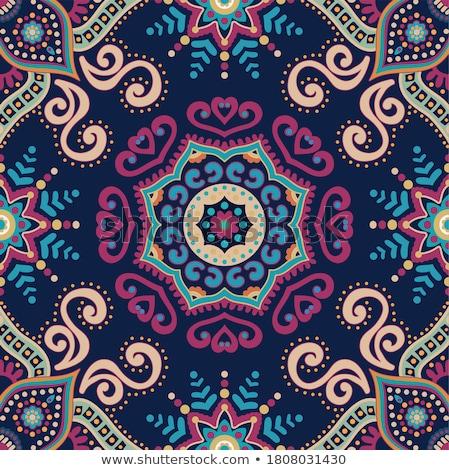 absztrakt · szép · virág · végtelen · minta · szín · természet - stock fotó © frescomovie