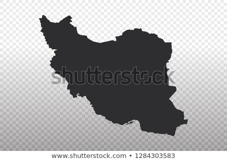 iran country on map Stock photo © alex_grichenko