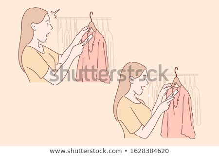 A simple dress for sale Stock photo © bluering