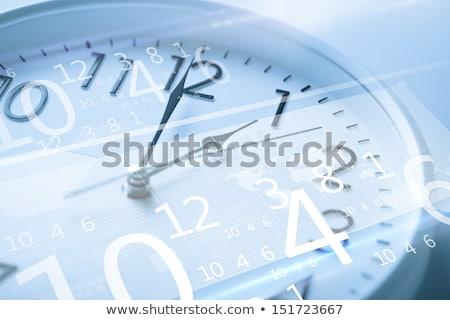 óra közelkép perc második idő gyors Stock fotó © fuzzbones0