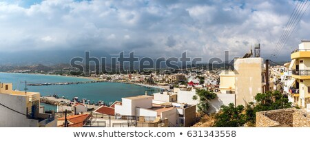 Sitia Town At Eastern Part Of Crete Island Greece Stock