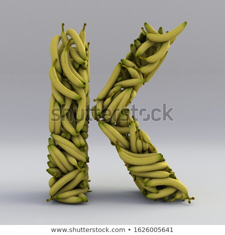 Font design with word banana Stock photo © bluering