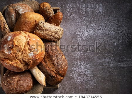 bread loaf and baguettes Stock photo © Digifoodstock