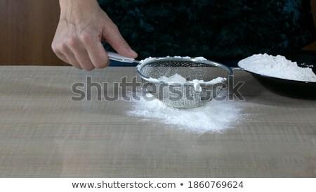 Tortellini in a sieve Stock photo © Digifoodstock
