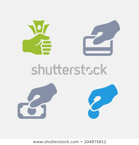 économies · Finance · granit · simple · icônes - photo stock © micromaniac