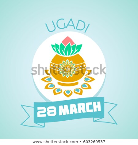 28 March ugadi Stock photo © Olena