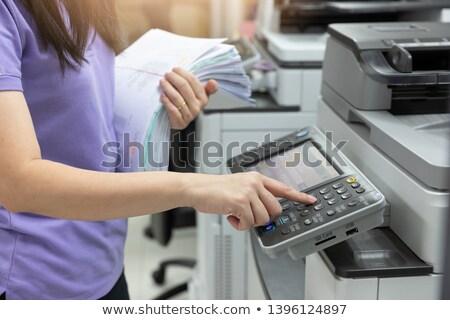 работник занят служащий служба бизнеса женщину Сток-фото © IS2