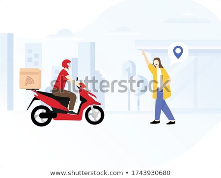 A delivery arrives at an office Stock photo © IS2