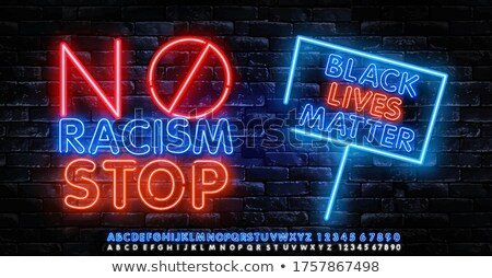 hate neon sign stock photo © stevanovicigor