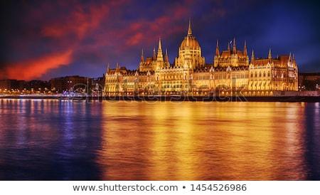 ブダペスト 議会 橋 ハンガリー ストックフォト © Givaga