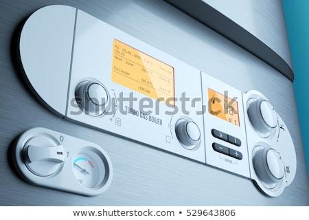 電気 コントロールパネル 表示 制御 ボタン 家 ストックフォト © hamik