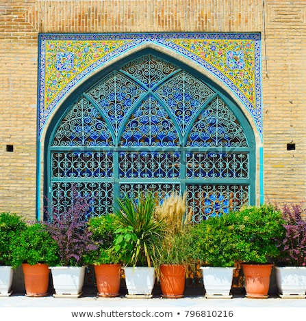 Shah Mosque wall. Tehran, Iran Stock photo © joyr