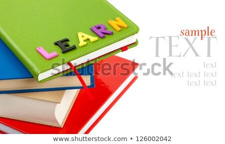 заклинание английский слово семьи иллюстрация школы Сток-фото © bluering