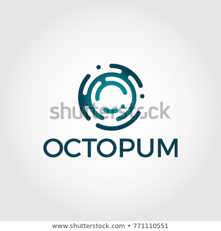 tech · logo · abstract · kleurrijk · vector · icon - stockfoto © blaskorizov