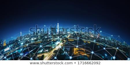 global smart web connections stock photo © alexaldo