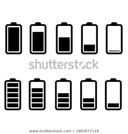 Bateria nível ilustração móvel poder celular Foto stock © Blue_daemon