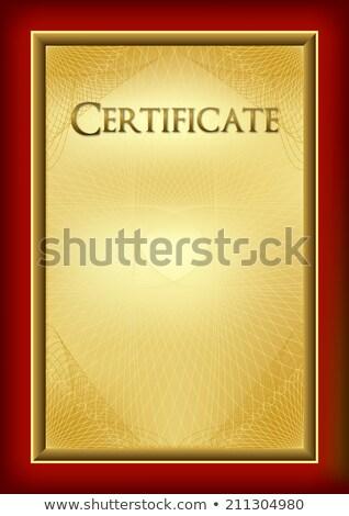 Acknowledgement red Stock photo © mayboro