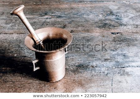 taze · otlar · baharatlar · yalıtılmış · beyaz - stok fotoğraf © melnyk