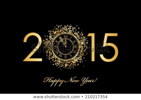 2015 on a clock Stock photo © montego
