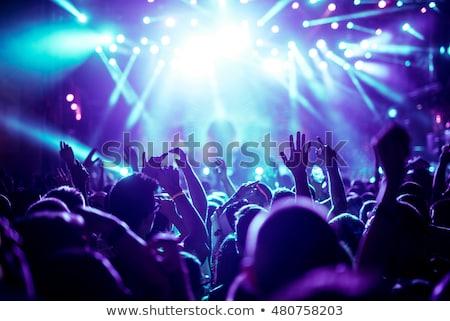 Fan yaşamak konser Stok fotoğraf © lichtmeister