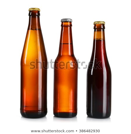 Bottled beer and snacks Stock photo © karandaev