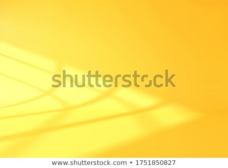 Sunlight reflection on curved surface and wall background 3D ren Stock photo © sedatseven