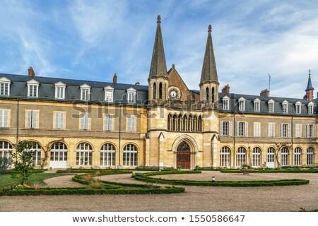 Abdij Frankrijk bedevaart plaats rond Stockfoto © borisb17