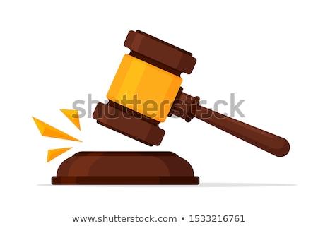 スケール 法 判決 アイソメトリック アイコン ベクトル ストックフォト © pikepicture
