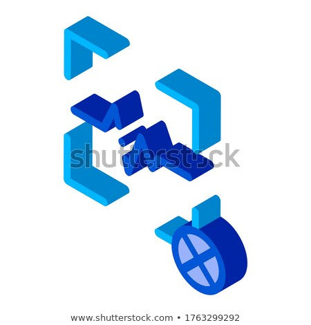 Cancel Action Voice Control isometric icon vector illustration Stock photo © pikepicture