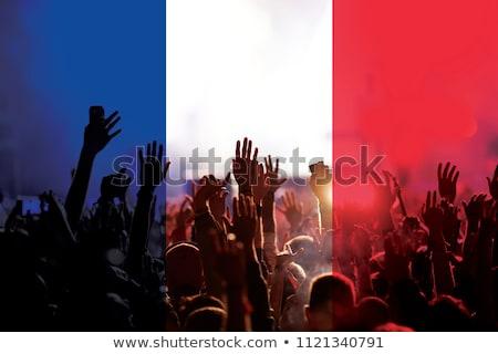 フランス語 · サッカー · 草 · フラグ · 空 - ストックフォト © Saphira