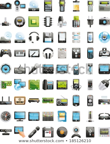 Handy scanner Stock photo © nemalo