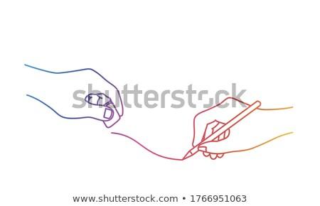 rainbow rubber eraser stock photo © aladin66