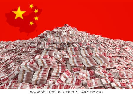 stack of chinese yuan stock photo © zkruger