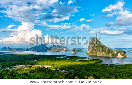 Idyllic island in Thailand Stock photo © johnnychaos