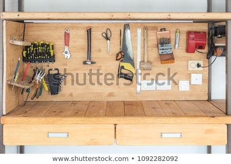 artesão · ferramenta · tecnologia · homens · indústria · fábrica - foto stock © photography33