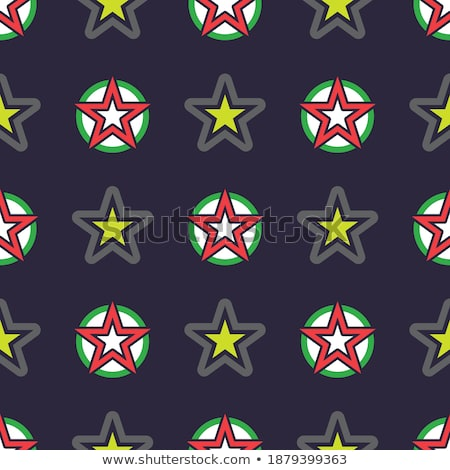 Set fabric curtain with ornament, holiday backdrop. Stock photo © Ecelop