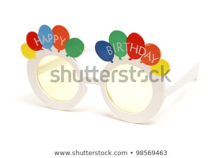 Celebratory Birthday Sunglasses Stock photo © AlphaBaby