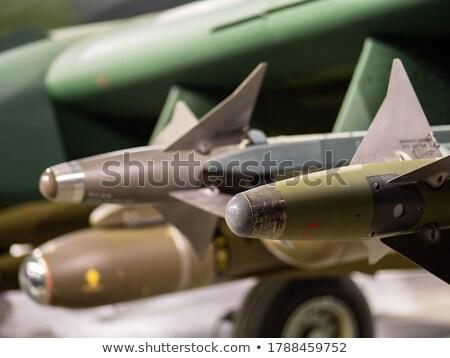 Saldırı rus hava füze roket çöl Stok fotoğraf © Aikon