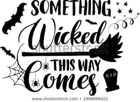 wicked Stock photo © zittto