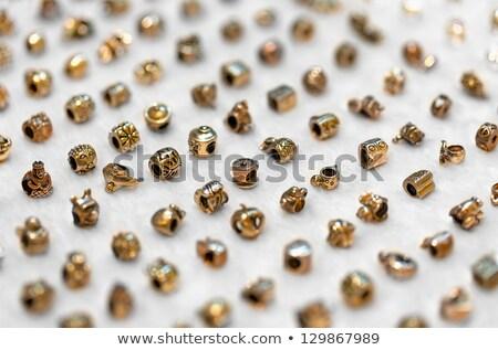 Pas cher bijoux contre marché mode métal Photo stock © pzaxe