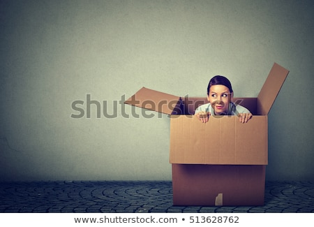 thinking outside the box concept stock photo © ivelin
